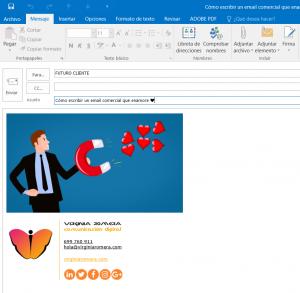 Cómo escribir un email comercial que enamore