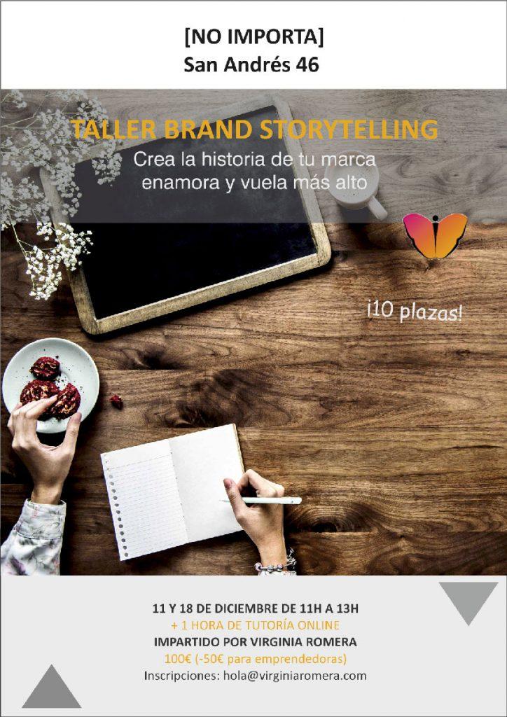 Taller de brand storytelling en A Coruña